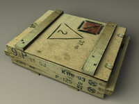 3d 3ds explosive box dinamite