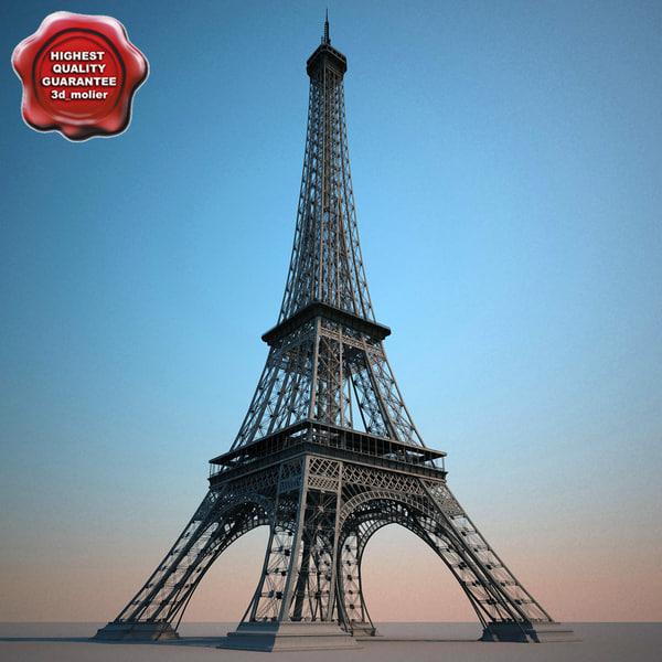 lightwave eiffel tower