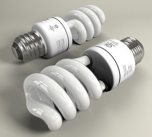3d energy saver compact fluorescent
