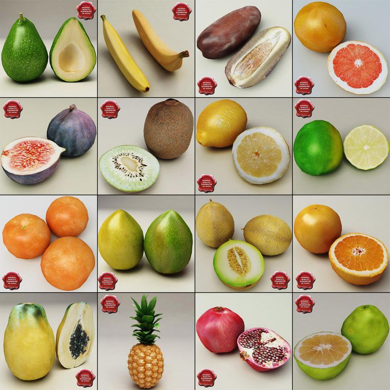 fruits v2 3ds