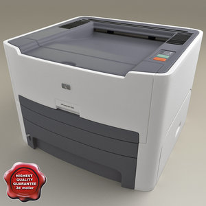 3d model hp laserjet lj 1320