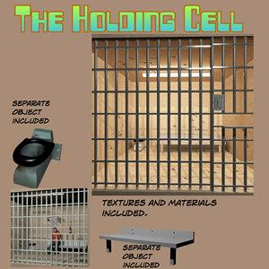 3d model holding cell