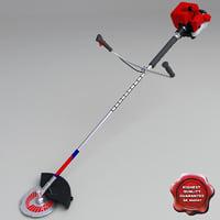3d model lawn trimmer