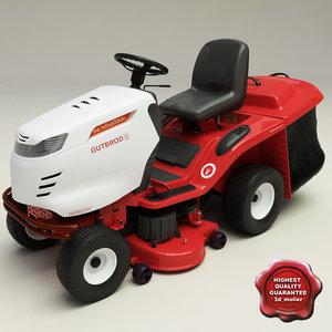 lawn mower v2 3d max