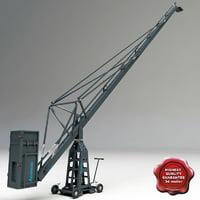 operator crane foxy c4d