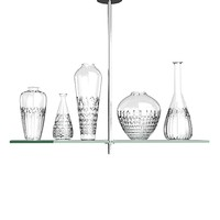 Philippe Starck Cicatrices  De Luxe Five Light Chandelier by Flos glass crystal vase