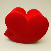 soft heart 3d model