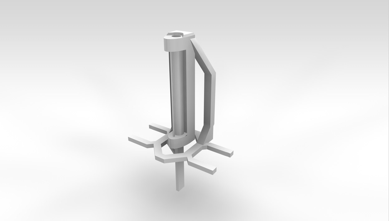 3d model orbital defense platform