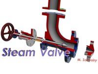 maya steam valve