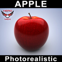 Apple photorealistic