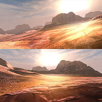 3d model scene mountain arizona -