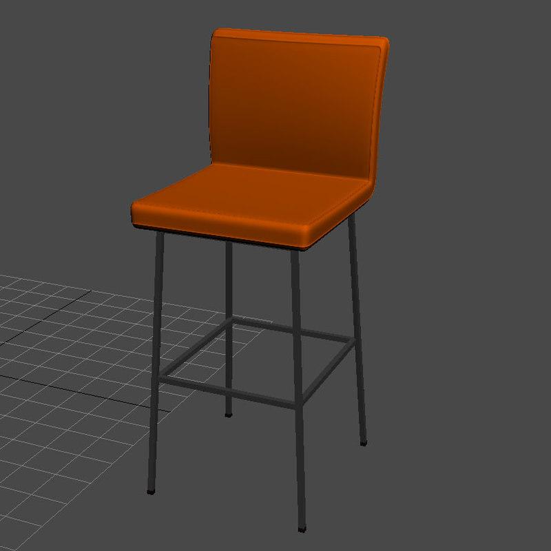 3d arya bar chair