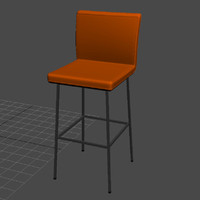 3d arya bar chair