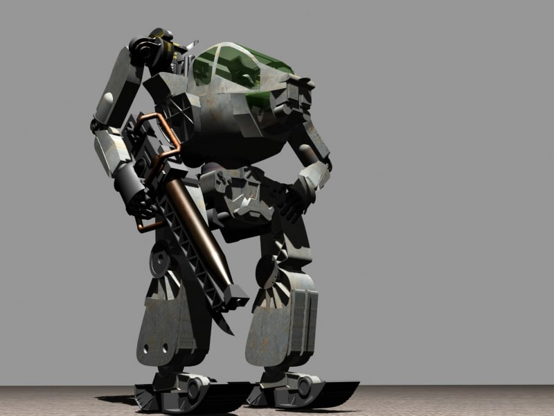 3ds max avatar 2009 amp walker
