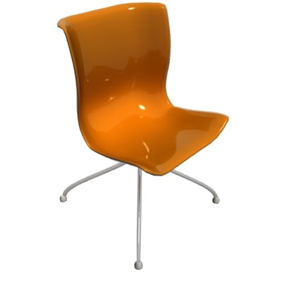 3ds max plastic chair