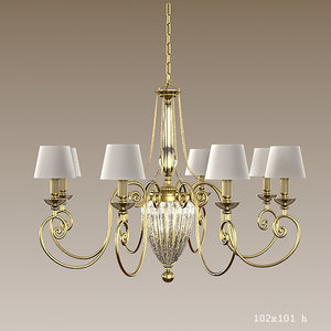 3d chelsom classic chandelier