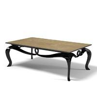 christopher guy table 3d model