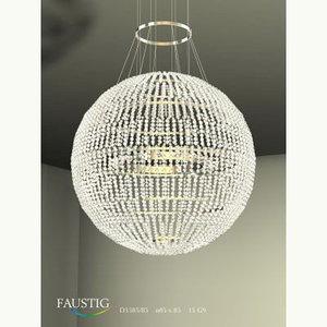 3d faustig crystal swarovski model