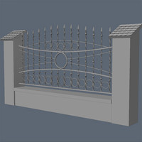 3d fence exterior visualization