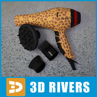 Figo hairdryer by 3DRivers