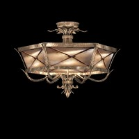 fine art lamps newport semi-flush mount 56240st