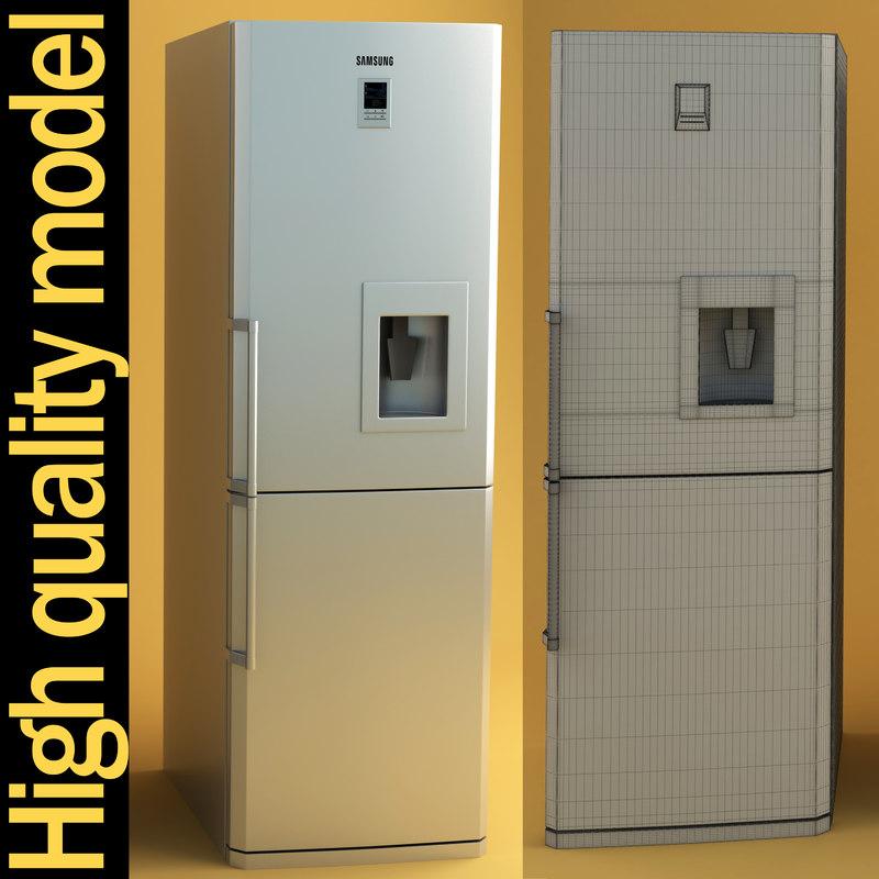3dsmax samsung fridge