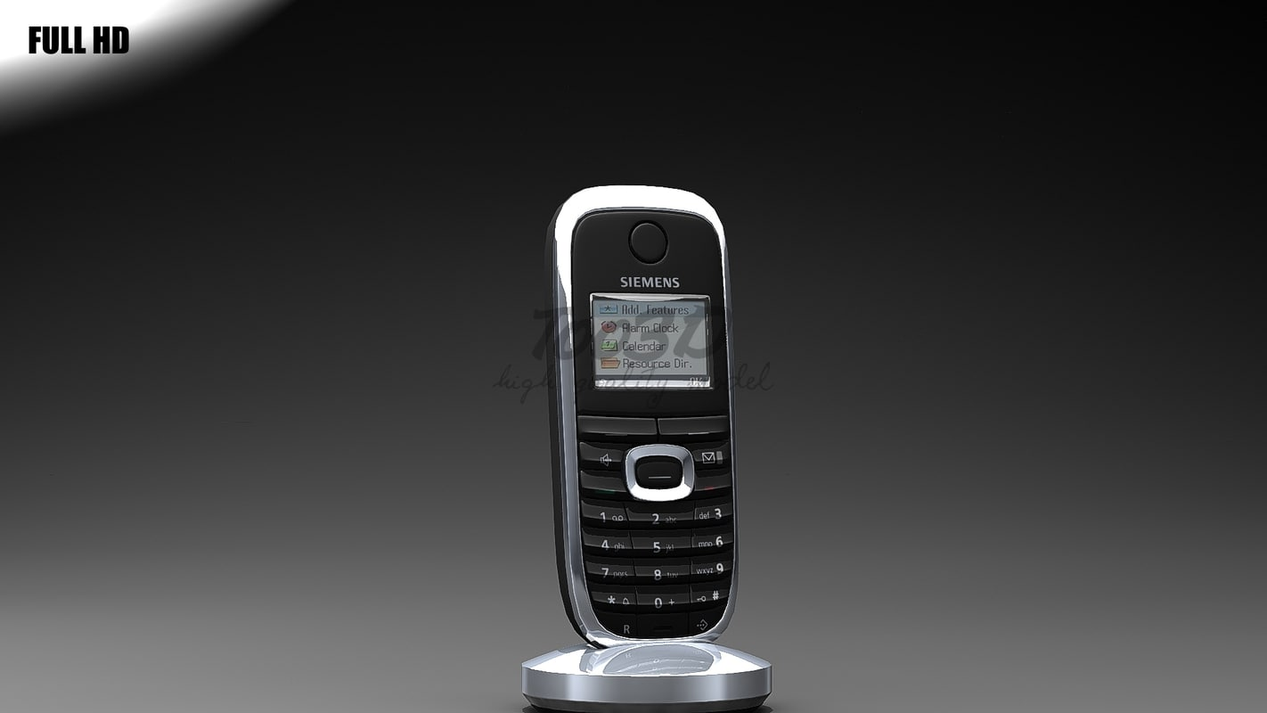 3d cordless phone