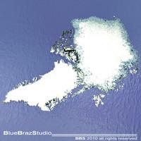 3dsmax arctic - greenland