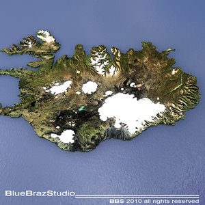 iceland maps 3ds