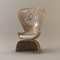 b&b italia crinoline armchair