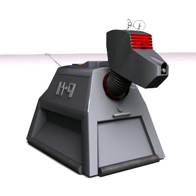3d robot k9 doctor
