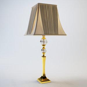 3d jago table lamp