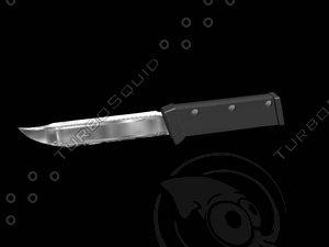 progressive knife 3d model