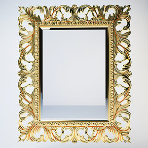 max classic mirror frame