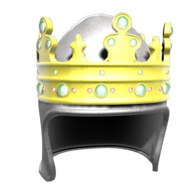 3d model king templar helmet