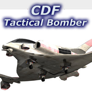 cdf tactical bomber space fighter vue