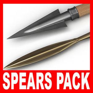 obj greek spear
