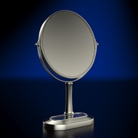 3d model vanity mirror scale accurate