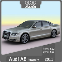 2011 Audi A8 (lowpoly)