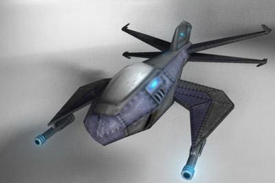 ma sci-fi space fighter