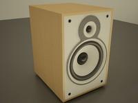 3d model speakers audio