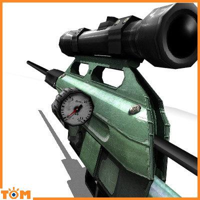 3d dan tranquilizer rifle