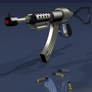 3d model sci-fi assault space