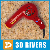 Andis hairdryer by 3DRivers