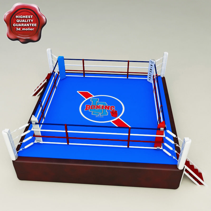 3ds boxing ring