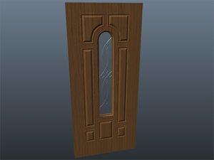 3ds max exterior door glass