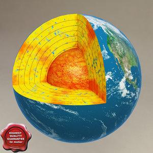 c4d earth cut away
