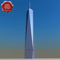 3d freedom tower