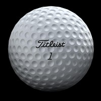 3d golfball ball golf