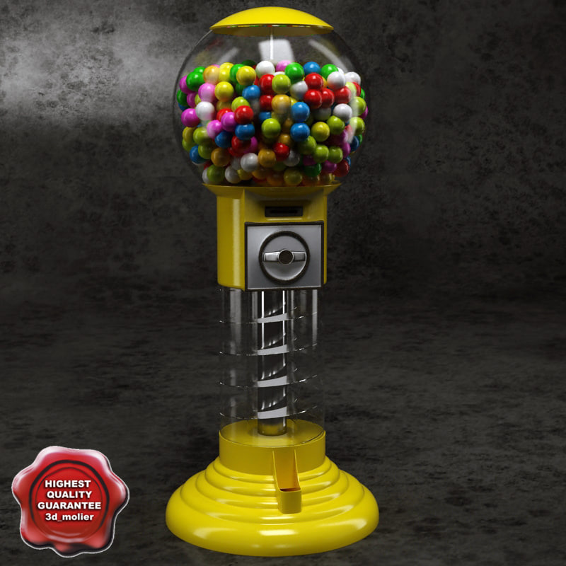 3d gumball machine v2